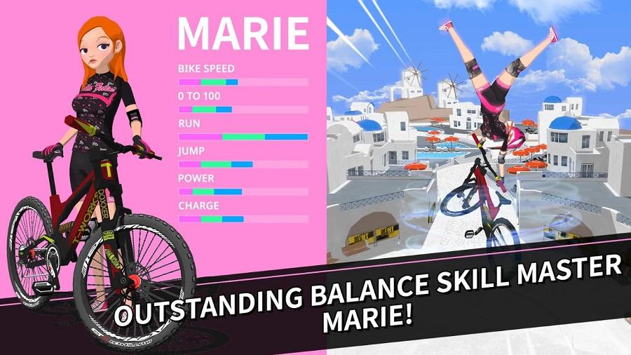 Downhill Masters - Game mobile đua xe đạp có thể chơi mọi lúc mọi nơi 3