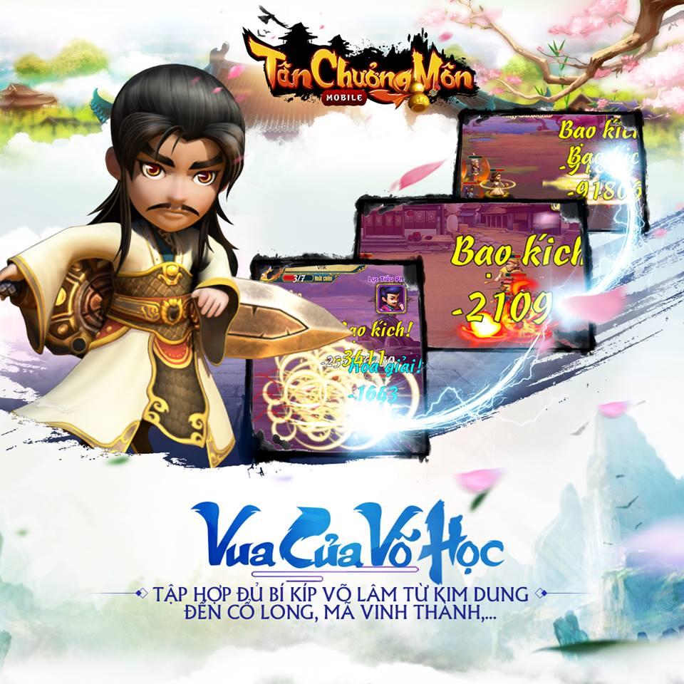 Funtap đổi tên dự án game thẻ tướng mới thành Vua Kiếm Hiệp - Tân Chưởng Môn 1