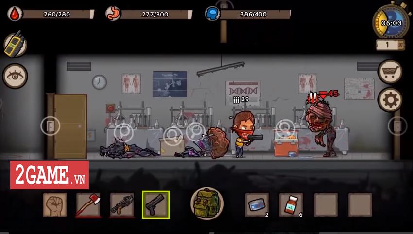 Survivor: Danger Zone - Game đề tài chạy trốn zombie với dàn nhân vật sở hữu kĩ năng độc đáo 2