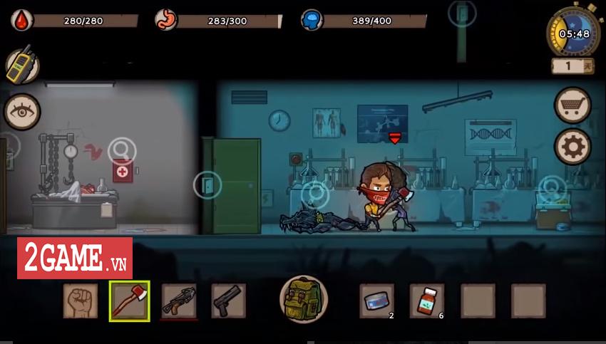Survivor: Danger Zone - Game đề tài chạy trốn zombie với dàn nhân vật sở hữu kĩ năng độc đáo 3