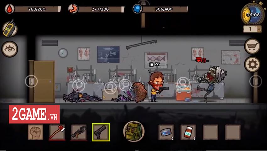 Survivor: Danger Zone - Game đề tài chạy trốn zombie với dàn nhân vật sở hữu kĩ năng độc đáo 5
