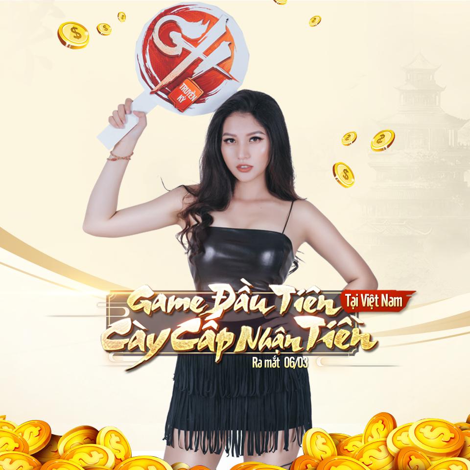 GH Truyền Kỳ - Game mobile đầu tiên tại Việt Nam áp dụng hình thức cày cấp nhận tiền 0