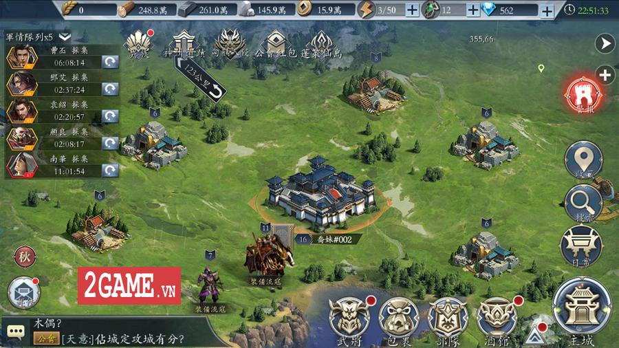 Tam Quốc Vương Giả Mobile - Thêm một game điều binh khiển tướng mới nữa của Funtap 0