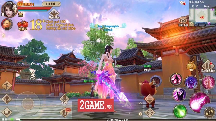 Tân Thiên Long Mobile VNG có những điểm nào giống với bản PC 12 năm về trước? 2