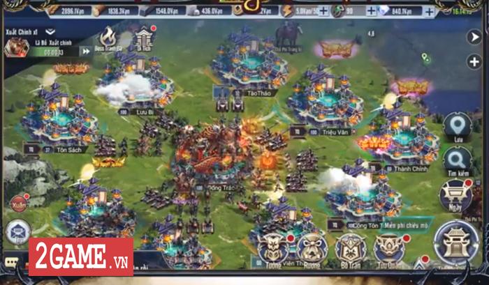 Tam Quốc Vương Giả Mobile - Thêm một game điều binh khiển tướng mới nữa của Funtap 1