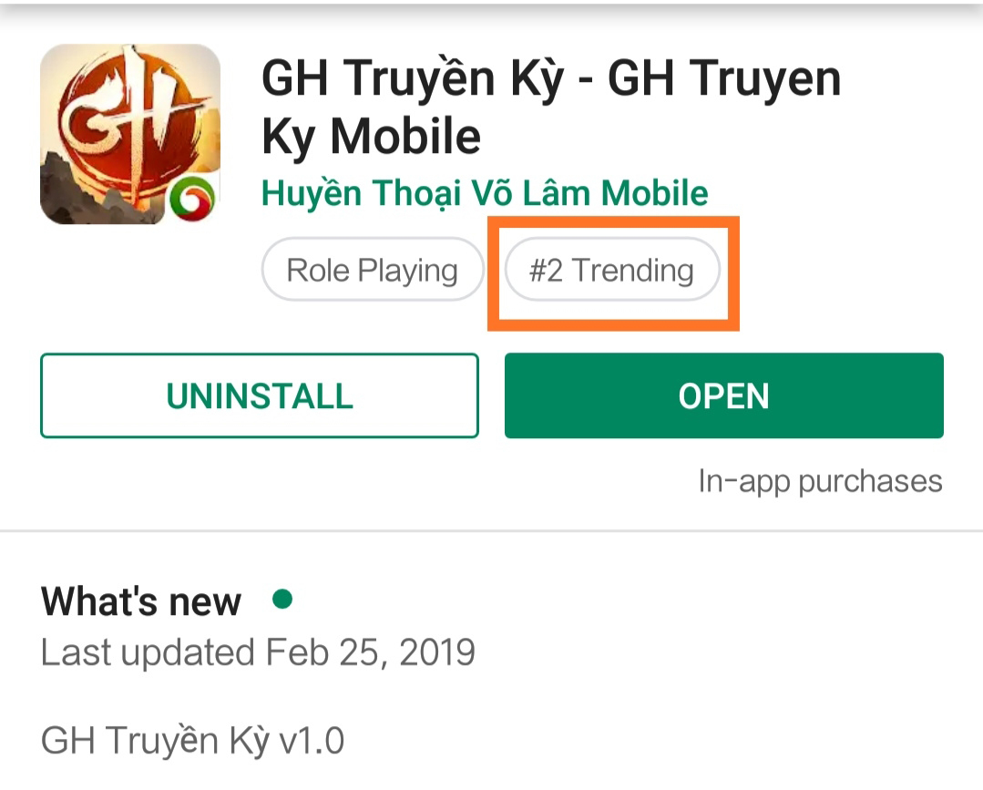Tặng 888 giftcode game GH Truyền Kỳ Mobile 0
