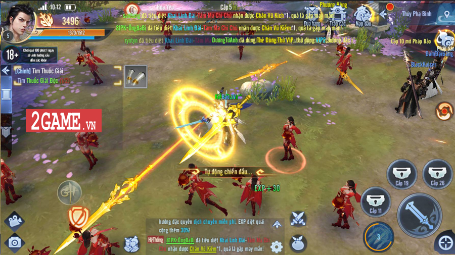 Tặng 888 giftcode game GH Truyền Kỳ Mobile 1