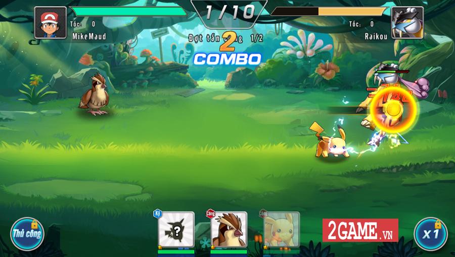 Đấu Trường Poke Mobile - Chất chơi Quyền Vương 98 ẩn chứa trong nội dung Pokemon cập bến Việt Nam 5
