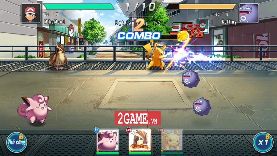 Đấu Trường Poke Mobile - Chất chơi Quyền Vương 98 ẩn chứa trong nội dung Pokemon cập bến Việt Nam 4