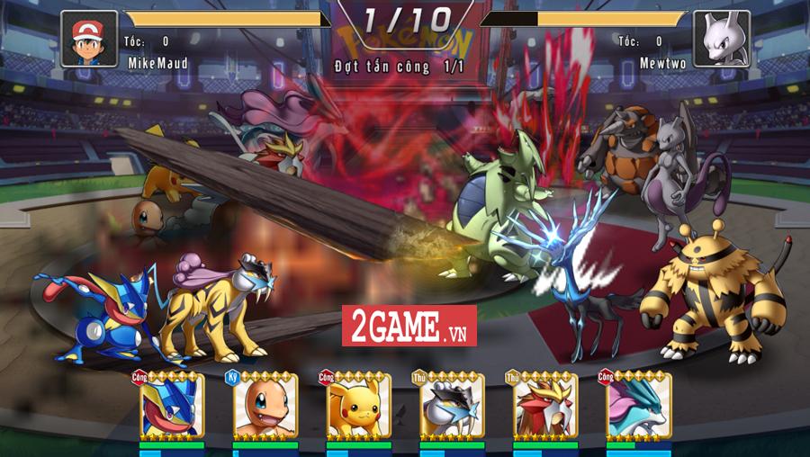 Đấu Trường Poke Mobile - Chất chơi Quyền Vương 98 ẩn chứa trong nội dung Pokemon cập bến Việt Nam 0