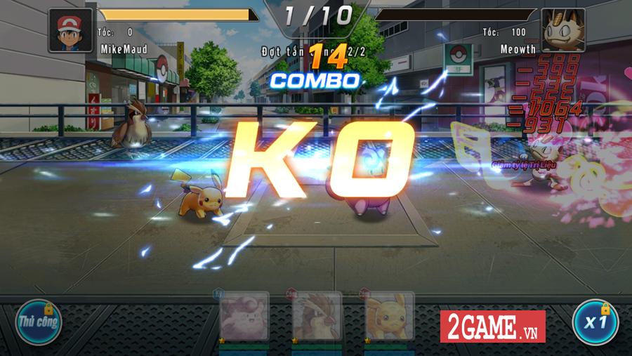 Đấu Trường Poke Mobile - Chất chơi Quyền Vương 98 ẩn chứa trong nội dung Pokemon cập bến Việt Nam 10