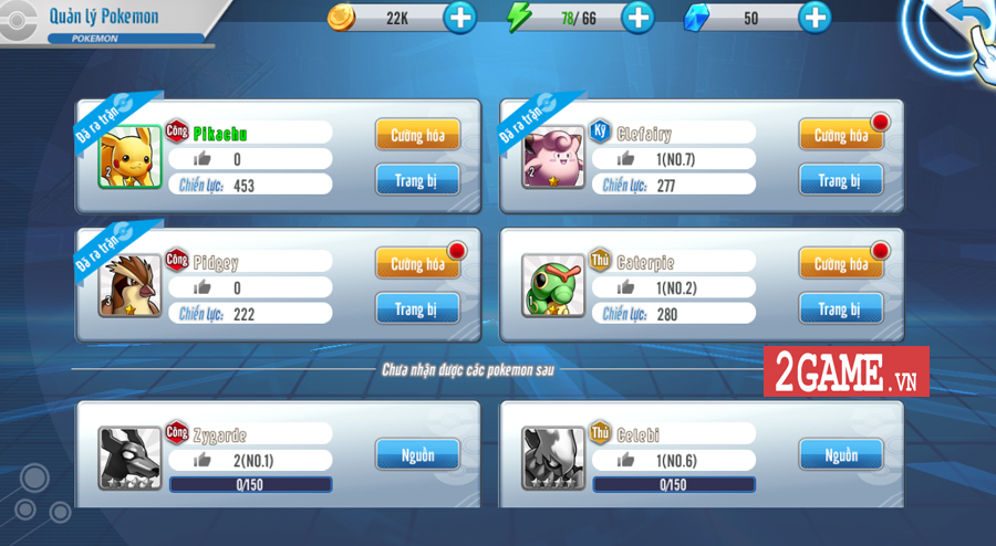 Đấu Trường Poke Mobile - Chất chơi Quyền Vương 98 ẩn chứa trong nội dung Pokemon cập bến Việt Nam 3