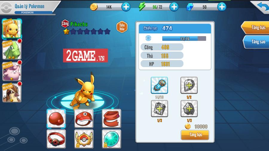 Đấu Trường Poke Mobile - Chất chơi Quyền Vương 98 ẩn chứa trong nội dung Pokemon cập bến Việt Nam 6