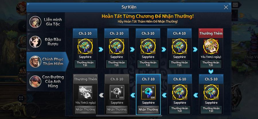 Thoả sức cày cuốc lĩnh thưởng trong Final Blade Việt Nam 6
