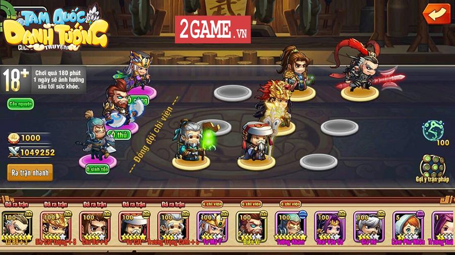 3Q Ai Là Vua - Game thẻ tướng với tạo hình cute cập bến làng game Việt 2