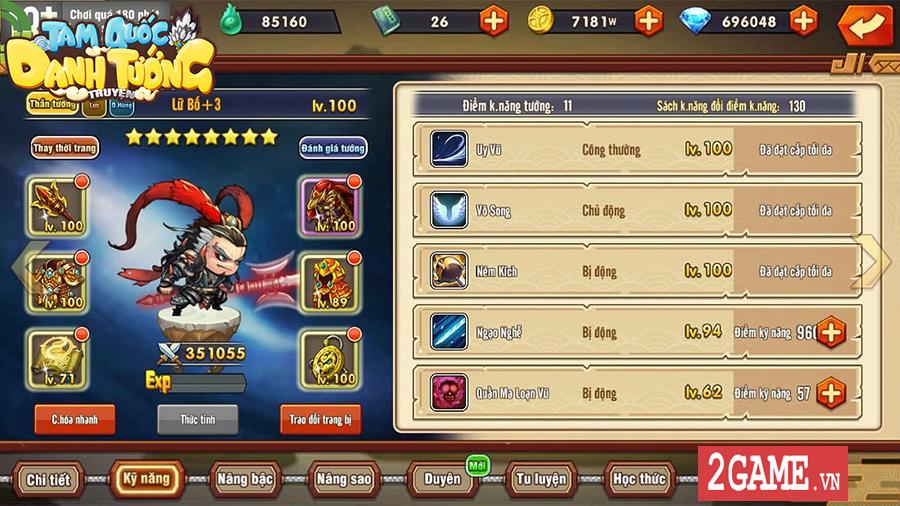 3Q Ai Là Vua - Game thẻ tướng với tạo hình cute cập bến làng game Việt 5
