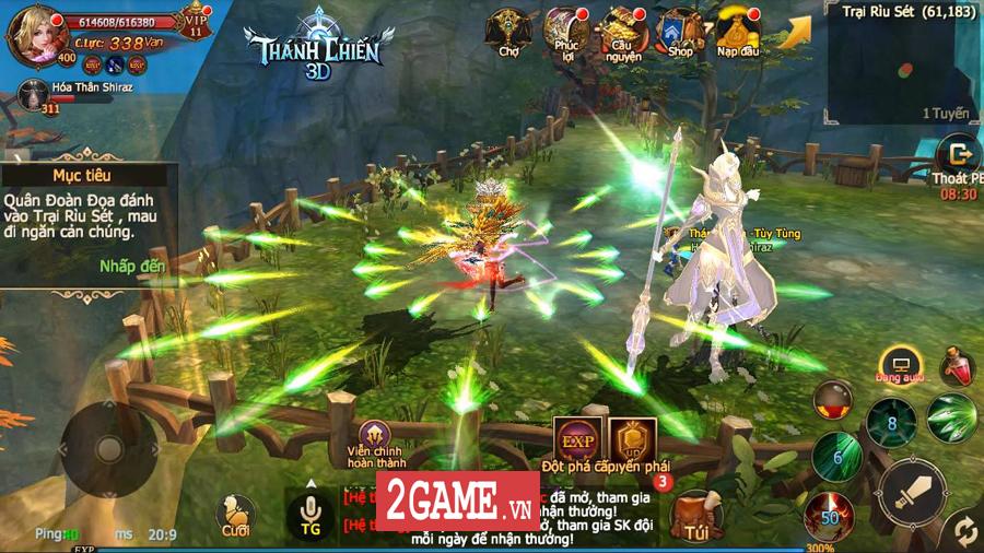 Thánh Chiến 3D Mobile - Game quốc chiến phong cách Châu Âu đáng để game thủ Việt trải nghiệm 7