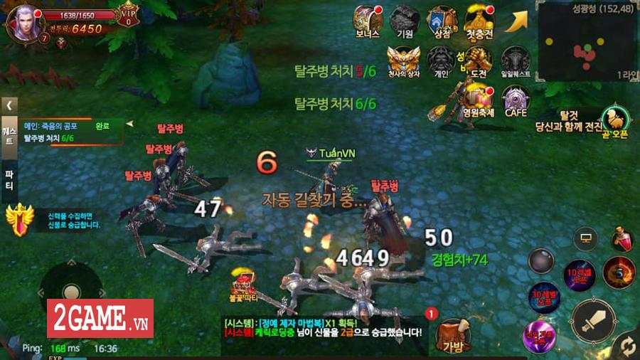 Thánh Chiến 3D Mobile - Game quốc chiến phong cách Châu Âu đáng để game thủ Việt trải nghiệm 1