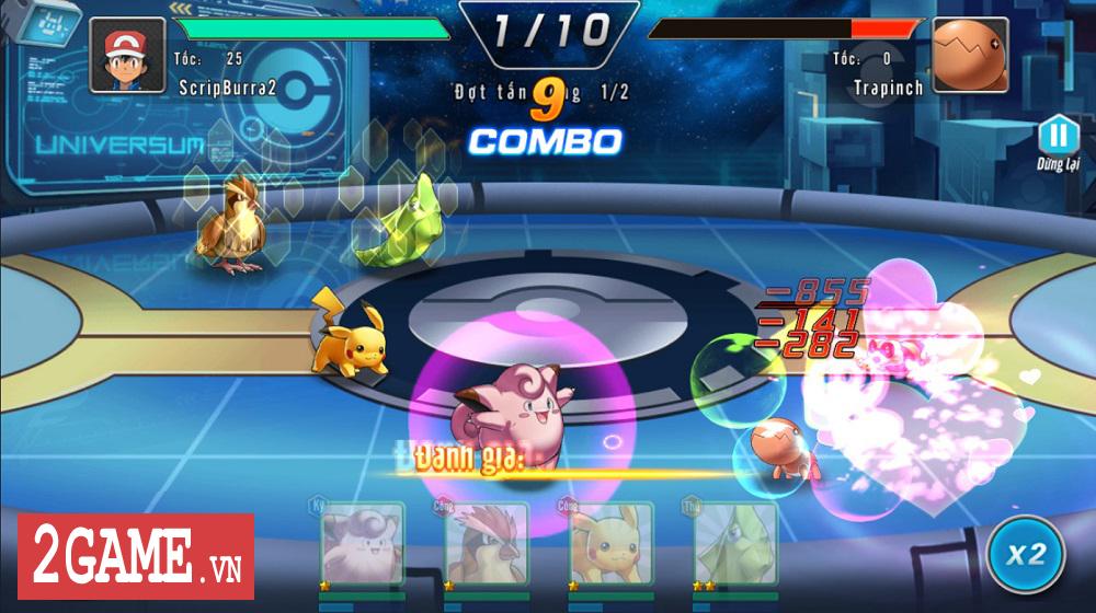 Trải nghiệm sớm Đấu Trường Poke: Game đề tài Pokemon với cơ chế combo đầy thú vị 11