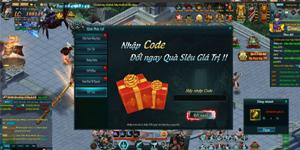 Tặng 110 giftcode Webgame Thiên Địa Hội