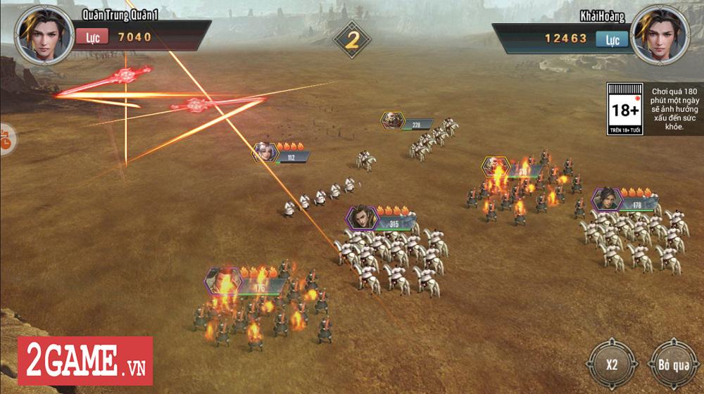 Trải nghiệm sớm Tam Quốc Vương Giả: Hội tụ tinh hoa của dòng game SLG thời gian thực 14