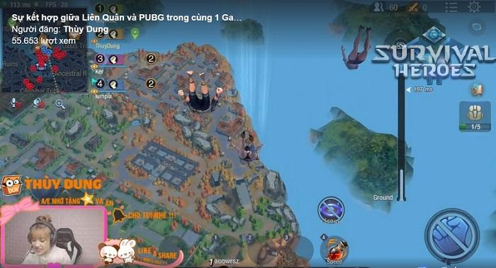 Bất ngờ trước cảnh nhiều hot streamer tìm đến chơi thử game Survival Heroes Việt Nam 2