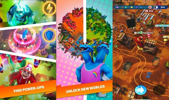 Trở thành quái vật tàn phá thành phố với game mobile Monsters With Attitude 2