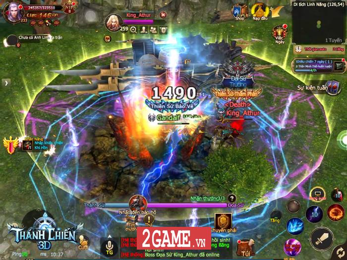 Thì ra Thánh Chiến 3D Mobile chính là phiên bản ngoại truyện của MU Online 5