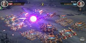 Game thủ Tam Quốc Vương Giả đắm chìm trong chuỗi nhiệm vụ xây thành, điều binh
