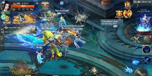 Thần Khúc Mobile thu hút đông đảo người chơi trong ngày đầu ra mắt