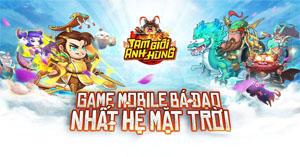 Tam Giới Anh Hùng Mobile lọt vào TOP game thịnh hành