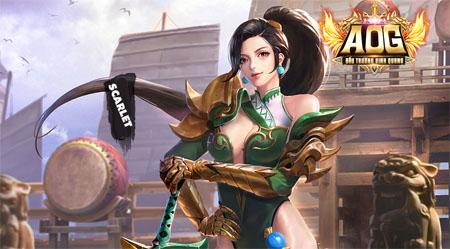AOG Đấu Trường Vinh Quang: Hướng dẫn chơi tốt tướng Scarlet phong cách Riven trong LMHT