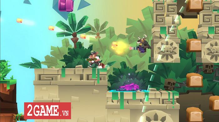 Bullet League - Game bắn súng sinh tồn kiểu màn hình ngang vô cùng mới lạ trên mobile 1