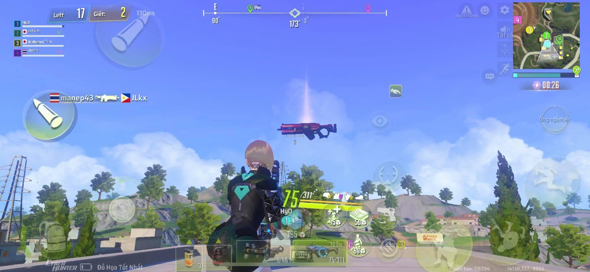 Game bắn súng sinh tồn Cyber Hunter và những điểm giống Fortnite đến lạ kỳ! 1