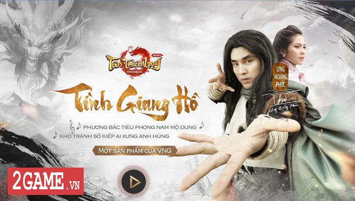 Ca sỹ Ưng Hoàng Phúc hóa thân thành Kiều Phong trong game Tân Thiên Long Mobile VNG 2