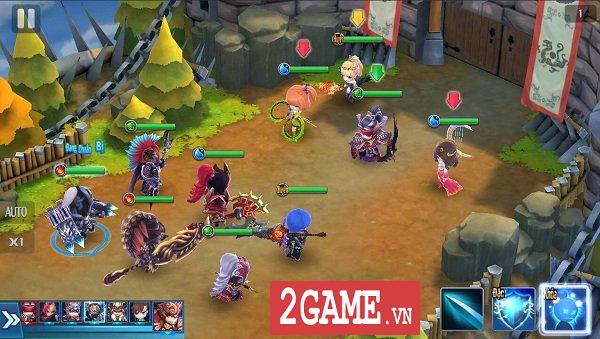 Thần Long 3Q Mobile xây dựng hệ thống nhân vật đa dạng về chủng loại lẫn hệ tướng 4