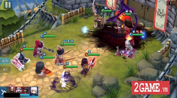 Thần Long 3Q Mobile xây dựng hệ thống nhân vật đa dạng về chủng loại lẫn hệ tướng 5