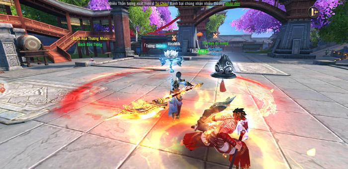 Đao Kiếm Vô Song Mobile cho người chơi hoán đổi 2 vũ khí qua lại ngay khi thực chiến 2