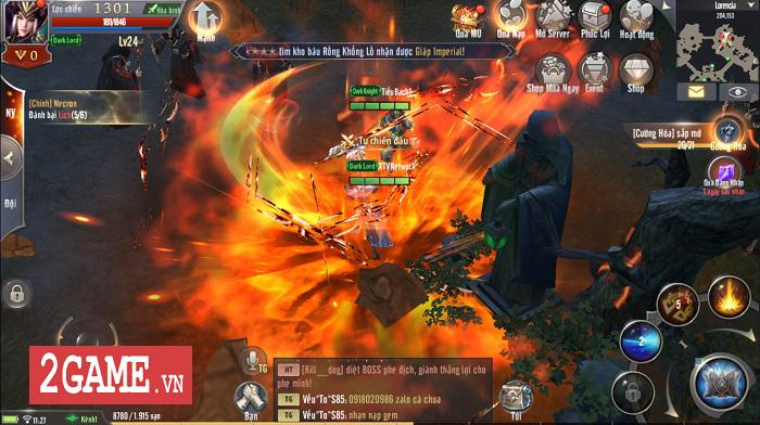 Chúa Tể Thức Tỉnh khiến hơn 50% game thủ MU Awaken VNG tái xuất cùng Dark Lord 2