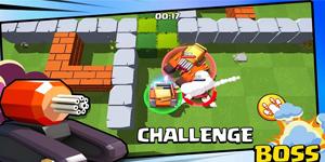 Game bắn tăng sinh tồn Tank Shooting Mobile sở hữu hình ảnh vô cùng tươi sáng