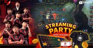 Nimo TV tạo cơ hội cho người hâm mộ giao lưu với team vô địch VCS Mùa Xuân 2019 – Phong Vũ Buffalo
