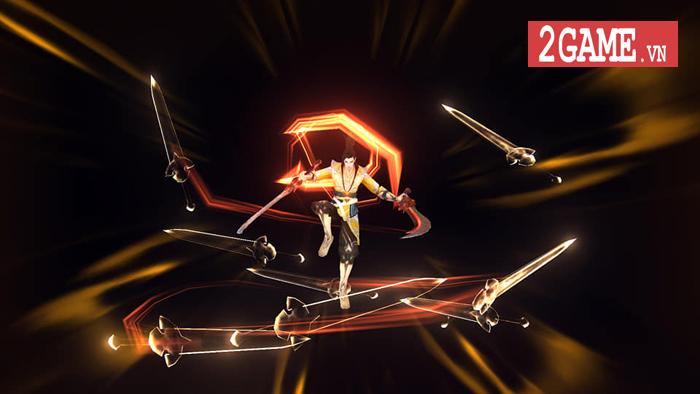 Việc hoán đổi vũ khí khi chiến đấu sẽ là ưu điểm nổi bật nhất của Đao Kiếm Vô Song Mobile 5