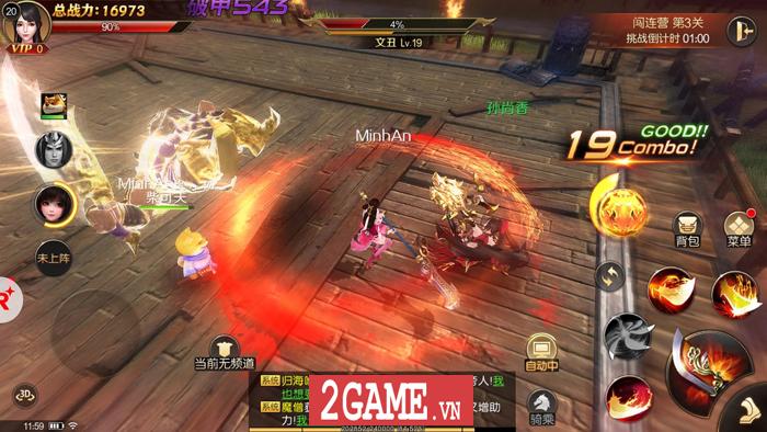Việc hoán đổi vũ khí khi chiến đấu sẽ là ưu điểm nổi bật nhất của Đao Kiếm Vô Song Mobile 1