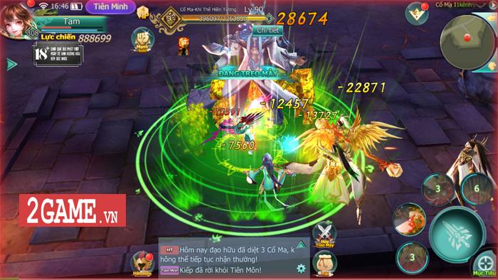 Tam Sinh Kiếp Mobile - Game nhập vai chuẩn cày cuốc dành cho tín đồ game Tiên hiệp 2