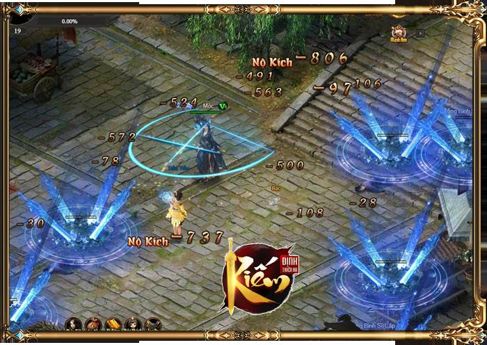 Kiếm Định Thiên Hạ – Webgame nhập vai kiếm hiệp lột tả khí chất hành hiệp trượng nghĩa 2