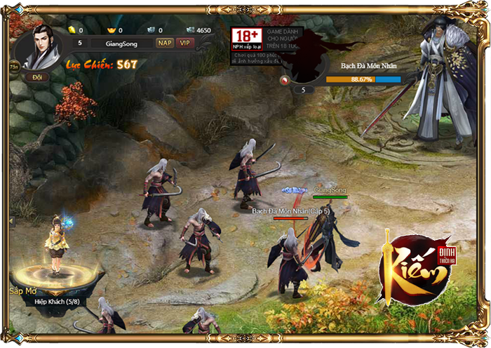 Kiếm Định Thiên Hạ – Webgame nhập vai kiếm hiệp lột tả khí chất hành hiệp trượng nghĩa 4