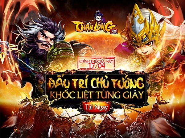 Tặng 555 giftcode game Thần Long 3Q Mobile 0