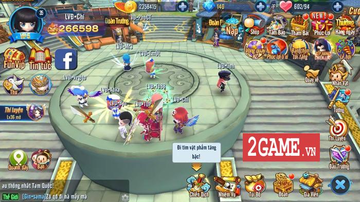 Dòng người tấp nập thượng đài đấu tướng trong ngày Thần Long 3Q Mobile ra mắt 3