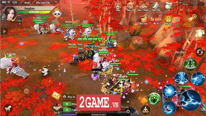Thục Sơn Kỳ Hiệp Mobile phô diễn lối chơi cày cuốc chuyên sâu đúng chất game PC 9