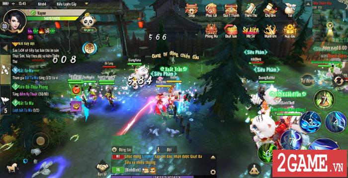 Thục Sơn Kỳ Hiệp Mobile phô diễn lối chơi cày cuốc chuyên sâu đúng chất game PC 4